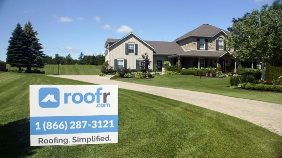 Roofr uses satellite imagery to evaluate the state of your roof