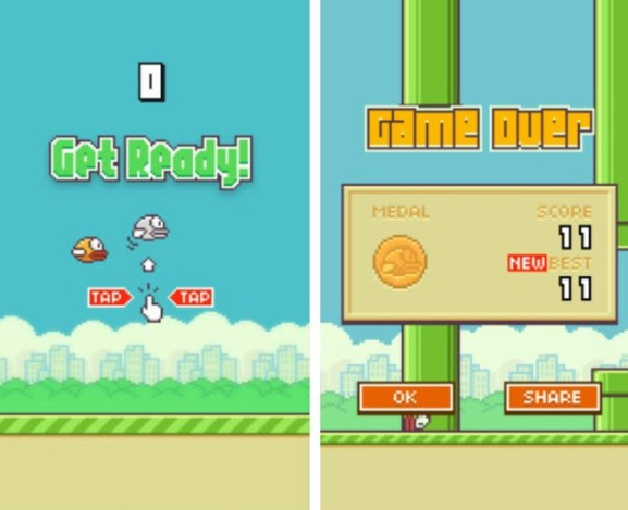 Flappy Bird creator pulled it because it's too 'addictive' — but gamers are still getting their fix