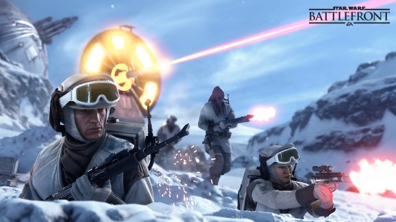 Star Wars: Battlefront gets a beta next month and a companion card game