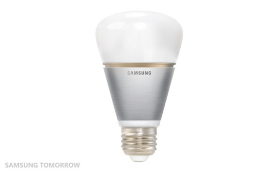 And now Samsung turns an ordinary lightbulb into a connected gadget