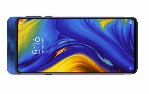 Xiaomi's first 'slider' phone, the Mi Mix 3, starts rolling out globally