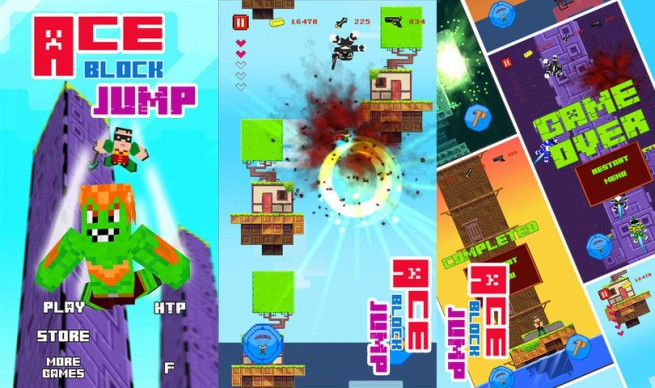 iOS game 'borrows' assets from Fez and Minecraft