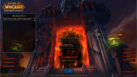 Denial of service attacks, queues, and other delays hit World of Warcraft: Warlords of Draenor launch