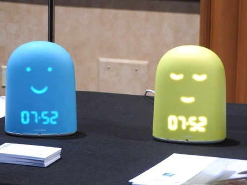 Remi is a smart bedside clock that trains kids to sleep