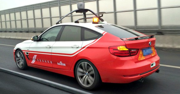 Baidu says it's developed China's first fully autonomous self-driving car