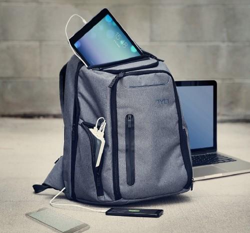 Energi Pro backpack lets you charge your devices on the run