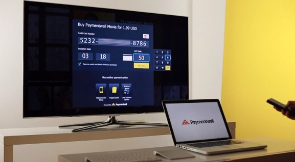 Paymentwall launches a payment suite for smart TVs so you can buy with your remote control — or smartphone