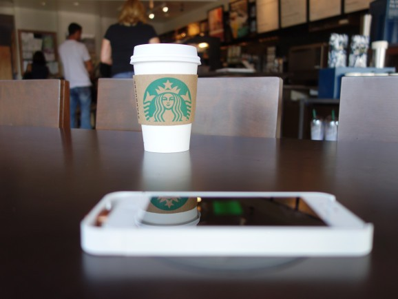 Starbucks' plan to roll out wireless phone chargers is just a big fat ad for Powermat & Duracell