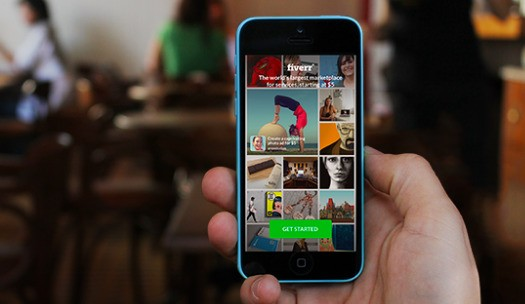 Fiverr launches its first iOS app to help mobilize the up-and-coming gig economy
