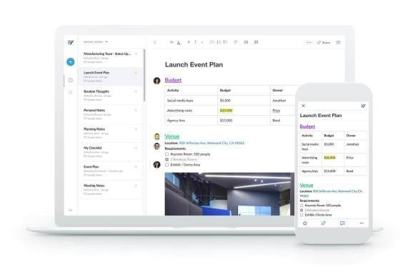 Box launches Mac and Windows versions of its Notes app and refreshes it on the web