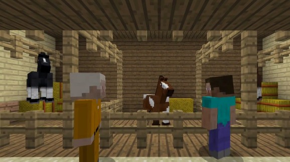 Here is what's different in Minecraft: Xbox Edition's latest update (hint — it involves mules)