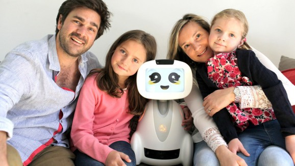 The Backed Pack: Buddy robot tends to the family, patrols the home
