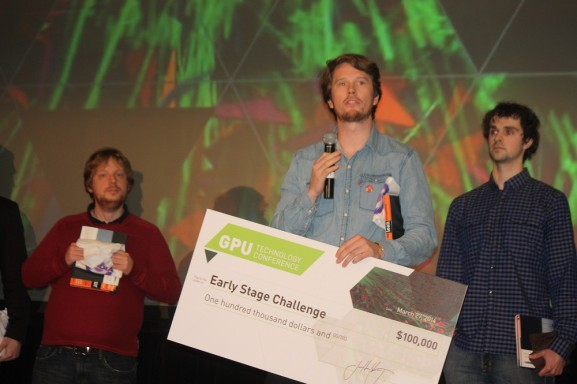 Big data visualization firm Map-D nabs $100K in Nvidia Emerging Companies contest