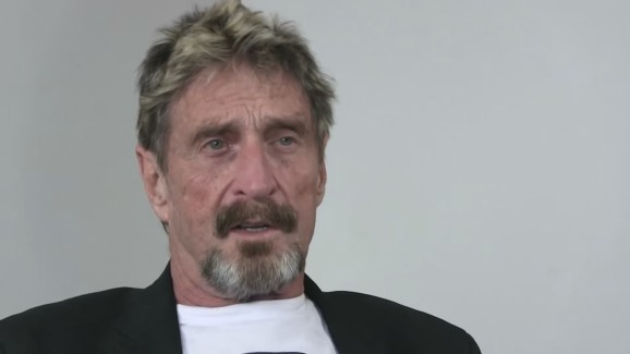 John McAfee sues Intel to challenge trademark infringement threat