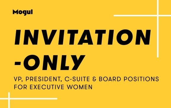 Mogul launches Invitation Only executive network for recruiting women