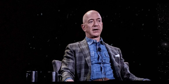 Jeff Bezos: Blue Origin is going to the moon to 'save the Earth'