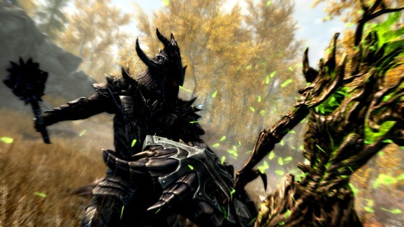 How Skyrim's PlayStation 4 remaster compares to the original on PC