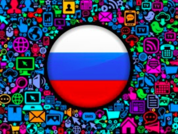 Russia's top 10 websites include Facebook, Google, Instagram, and YouTube