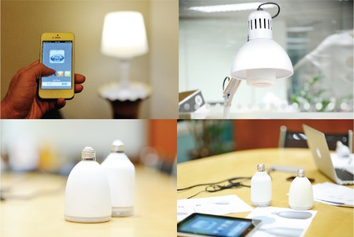 AirBulb wants to put a speaker in your lightbulb