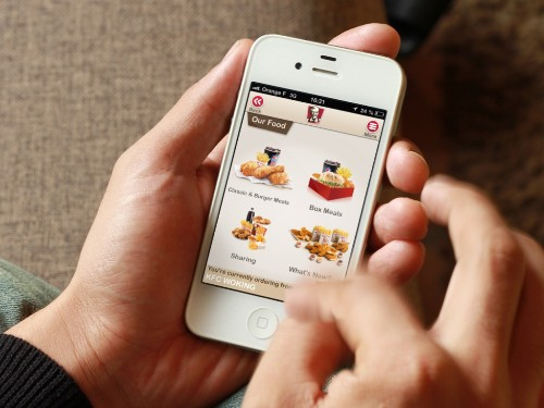 Is the future of mobile wallets finger-lickin' good? KFC and Airtag think so
