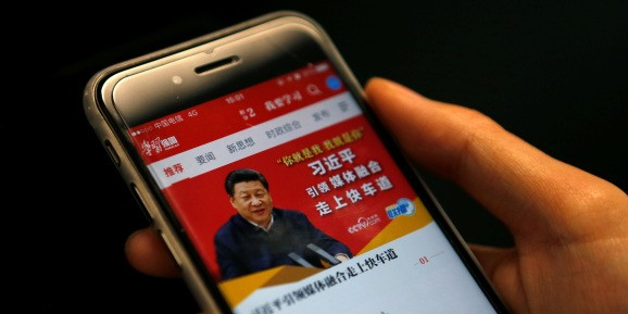 Alibaba is behind hit Chinese Communist Party's propaganda app