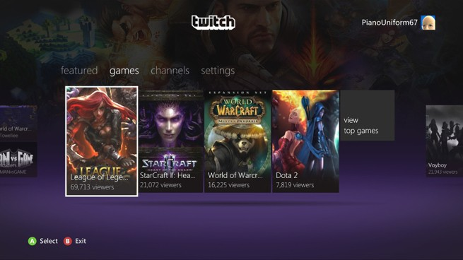 Twitch app hits Xbox 360 today — but without broadcasting capabilities