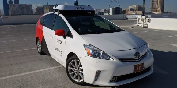 Yandex's self-driving cars have driven 1 million miles