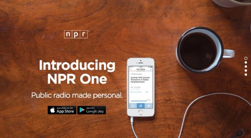 NPR launches new 'NPR One' mobile app for curating public radio news
