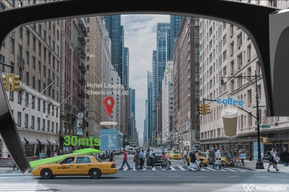 WaveOptics closes $39 million investment to scale AR display technology