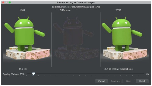 Google launches Android Studio 2.3 with Build Cache, WebP support, App Link Assistant, and more