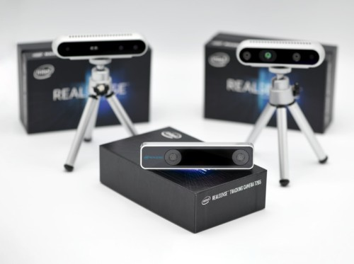 Intel unveils RealSense T265 camera to bring SLAM visual mapping to drones and robots