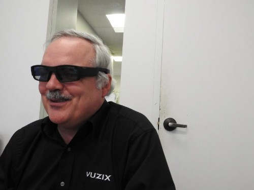 Vuzix aims to ship thin augmented reality smartglasses in 2017