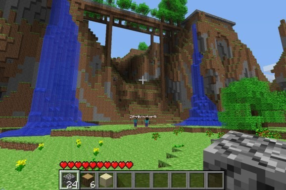 Minecraft comes to PlayStation Vita next week (at least in Europe)