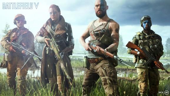 Battlefield V's open beta begins with destruction in Rotterdam