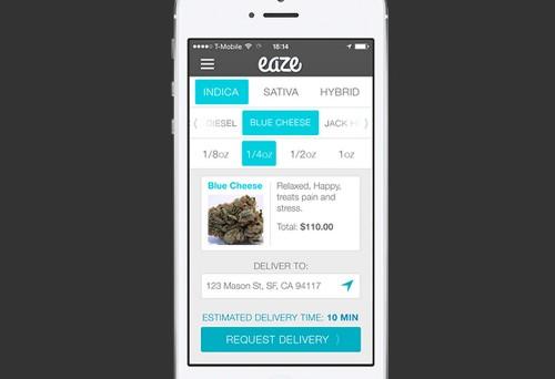 Eaze launches an Uber for marijuana