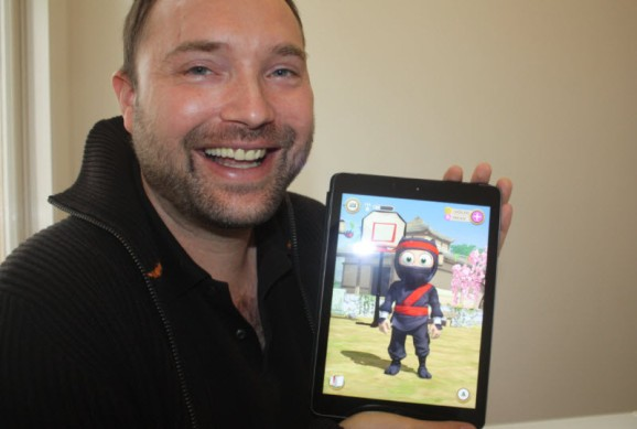 The iPad has a huge hit in Natural Motion's Clumsy Ninja, with 10M downloads in a week