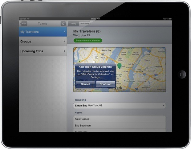 TripIt brings its headache-saving team-travel planning to iPhone and iPad