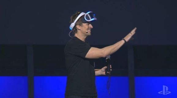Sony shows that demonstrating virtual reality is still an exercise in embarrassment