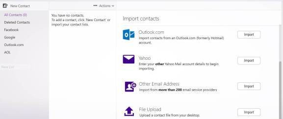 Yahoo Mail now lets you import contacts from more than 200 email service providers