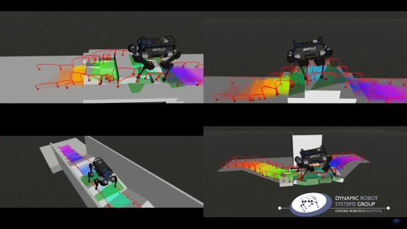 AI helps four-legged robots find their footing