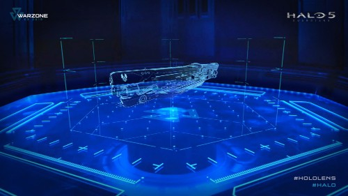 Halo 5's HoloLens experience is amazing — but it's not in the game