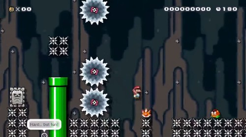 Here's the key to building awesomely difficult Super Mario Maker levels that drive me to tears