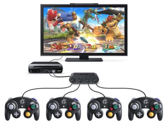 Wii U's GameCube controller will support more than just Smash Bros. [updated]
