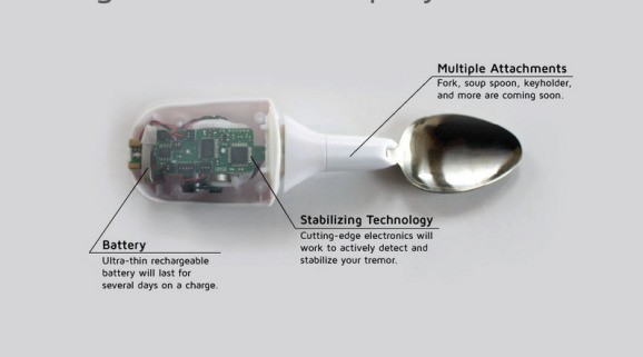 Google X acquires 'tremor-canceling spoon' startup