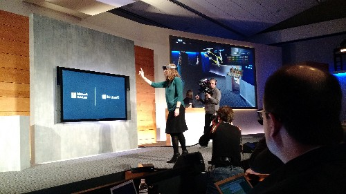 Microsoft debuts Windows Holographic, its augmented reality concept