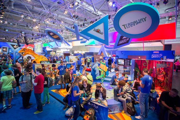 340K attend Gamescom consumer show in Germany to play Xbox One and PlayStation 4