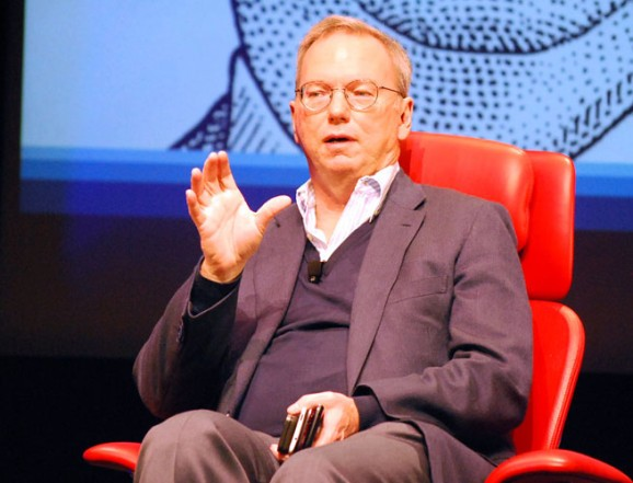 Eric Schmidt admits Google missed on social & says it's his fault