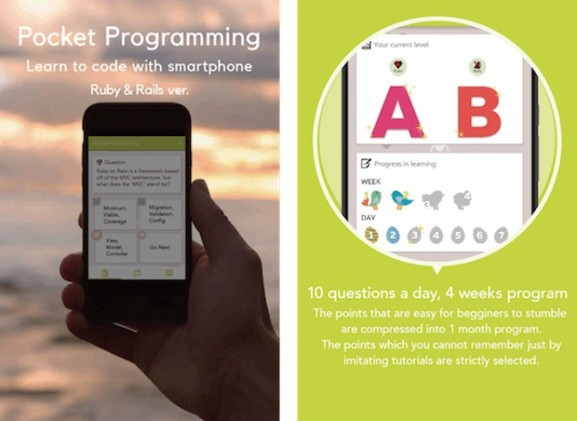 Meet Pocket Programming: An app for learning to code via your Android phone