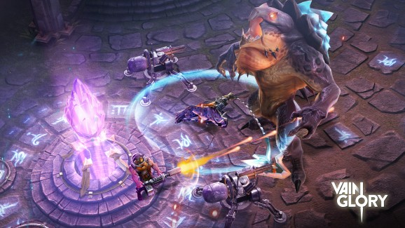 Mobile MOBA Vainglory lands big-time sponsors Amazon and Nvidia for its season finals
