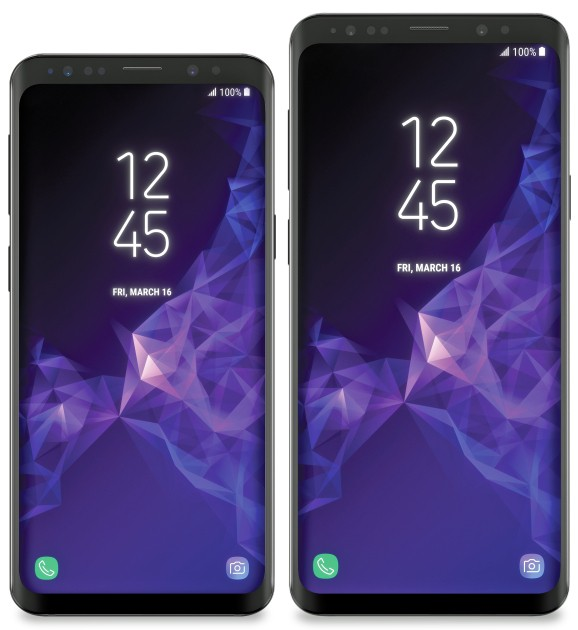 These are the Samsung Galaxy S9 and S9+